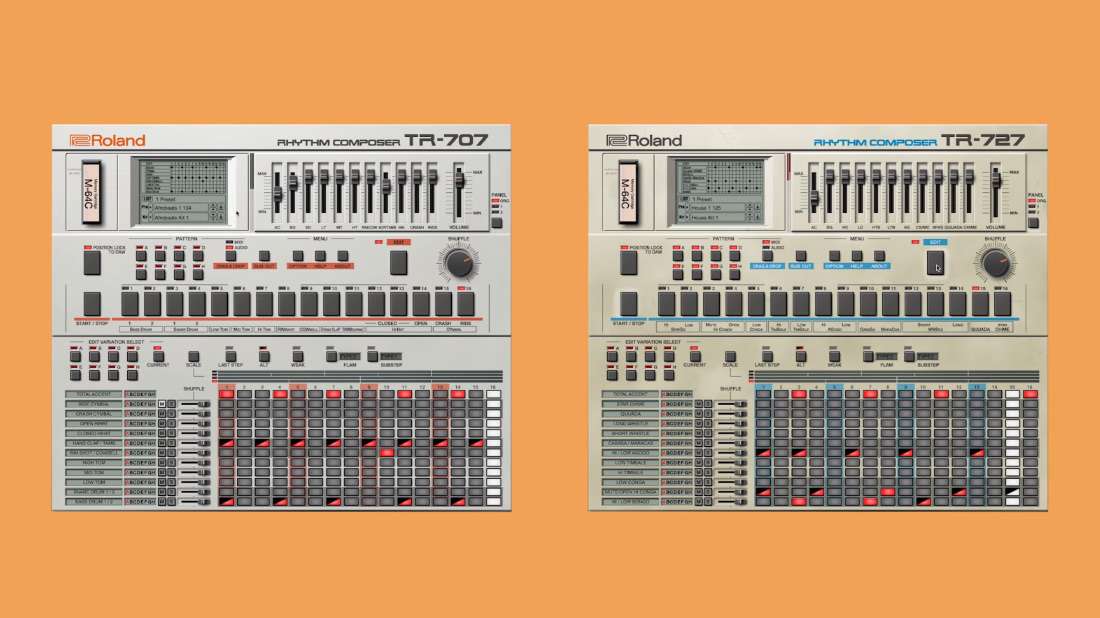 707 / 727 Software Rhythm Composers Overview Video
