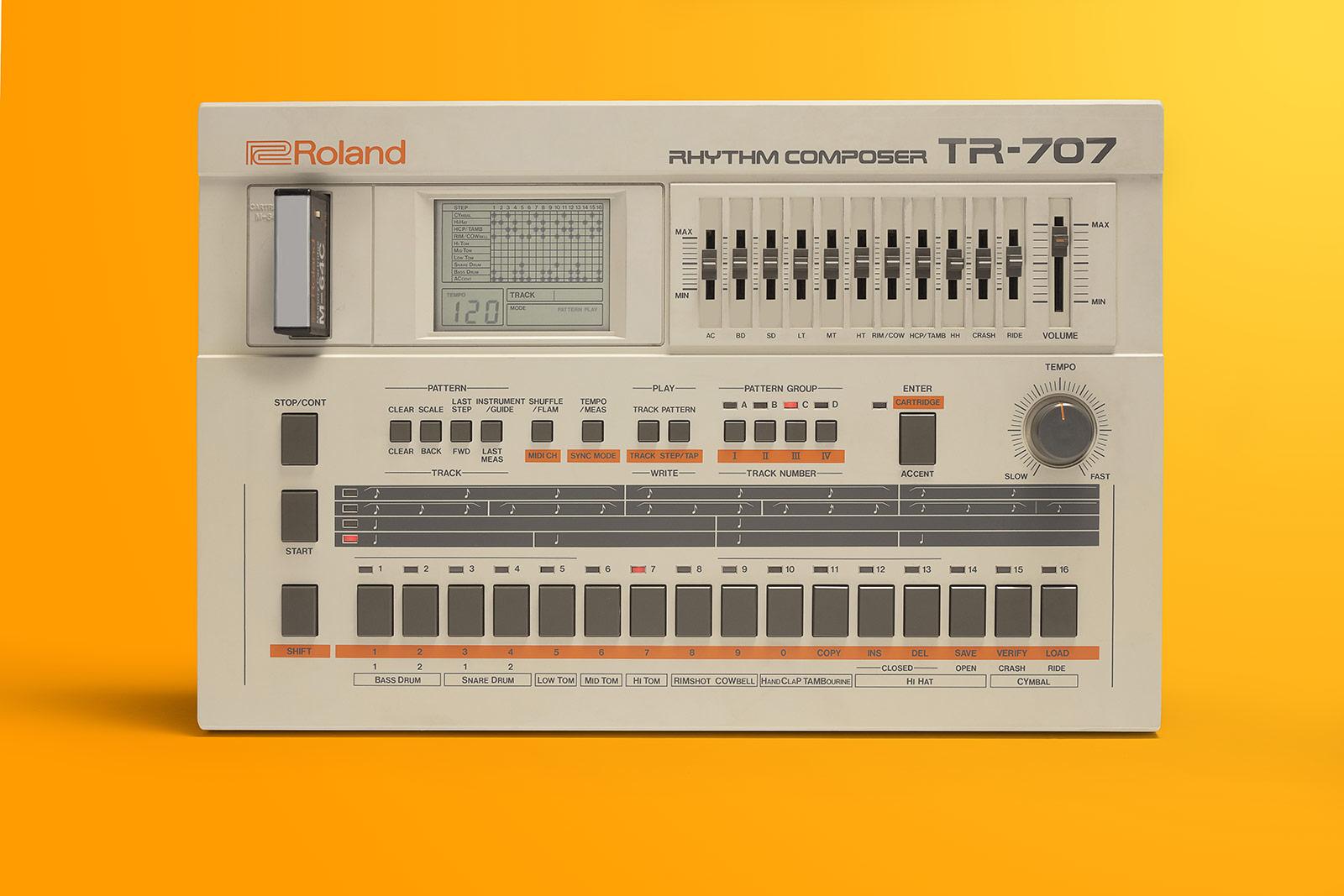 TR-707 Rhythm Composer