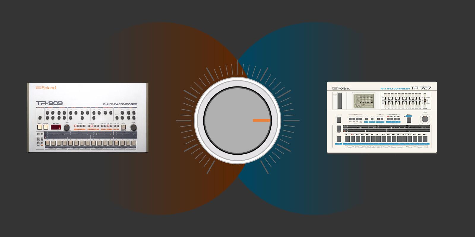727 Software Rhythm Composer | Digital transition.