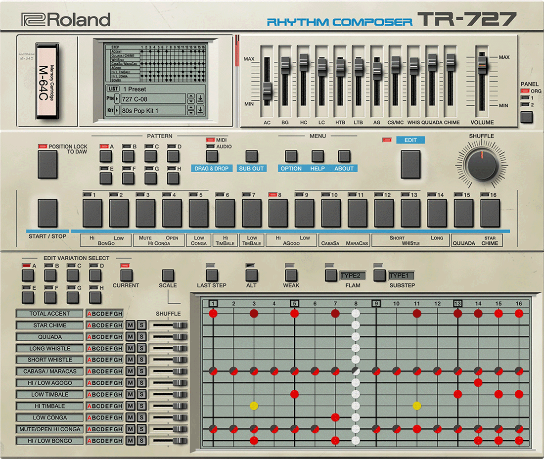 727 Software Rhythm Composer | Ultra-powerful sequencing