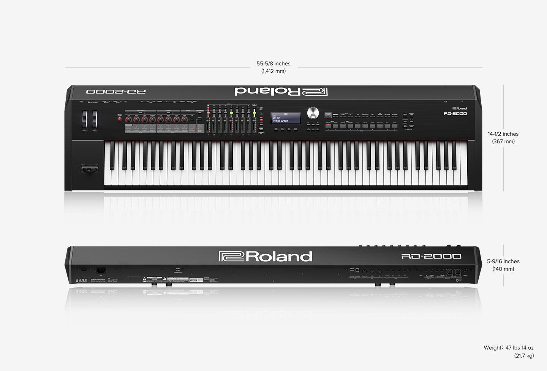 roland rd 2000 digital piano. Black Bedroom Furniture Sets. Home Design Ideas