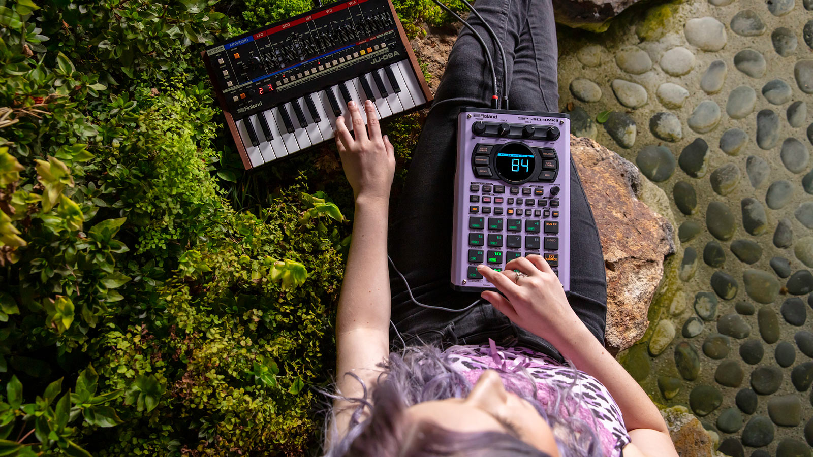 SP-404MKII | Performance-tuned sequencing
