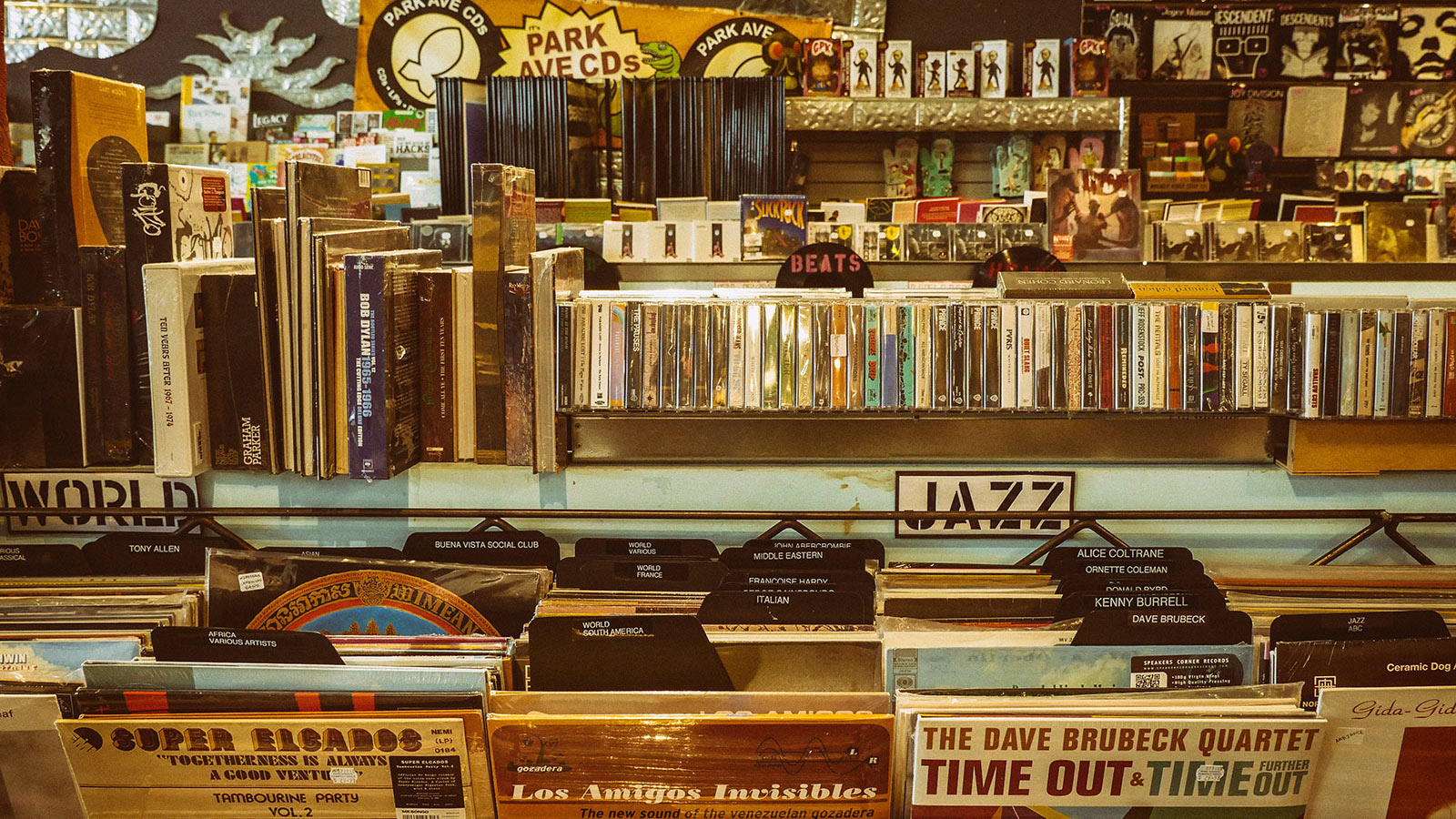 SP-404MKII | Record shop