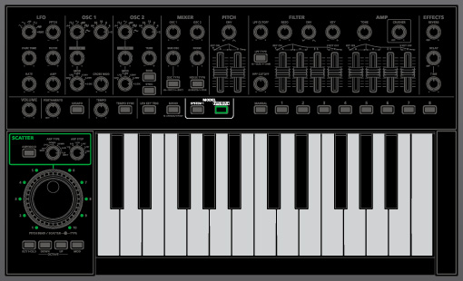 SYSTEM-1 | PLUG-OUT Synthesizer - Roland