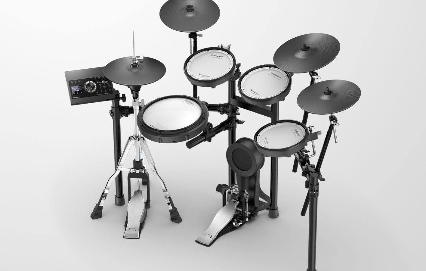 A Man Pushing Drum Diagram Custom Wiring Set Roland Td 17 Series V Drums Rh Com Brake Schematic Kit Setup