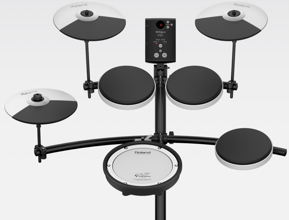 Roland td 1kv v drums develop authentic techniques with responsive pads and cymbals some drummers avoid electronic drums solutioingenieria Images