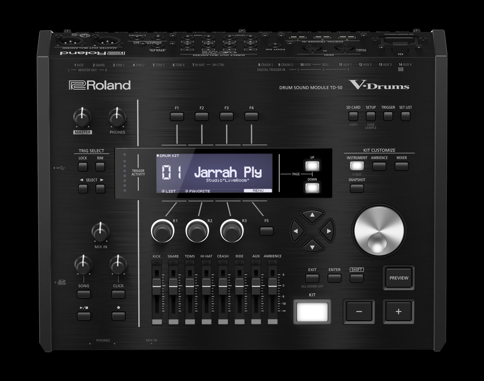 roland td 50kv with kd a22 roland drum system