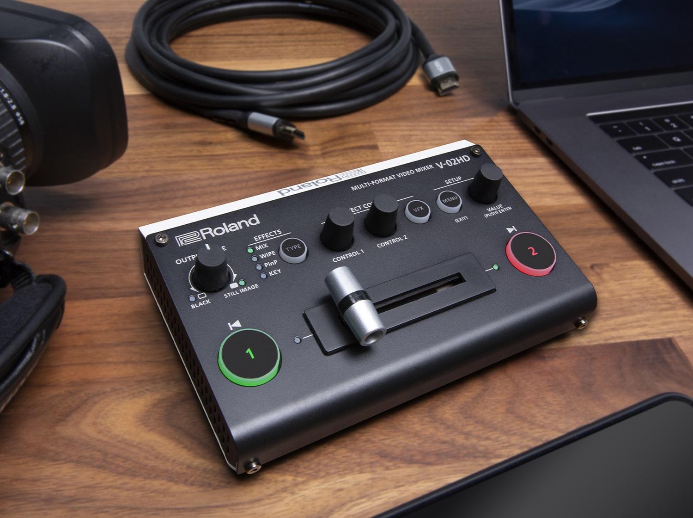 V-02HD | Multi-Format Video Mixer - Roland Pro A/V on
