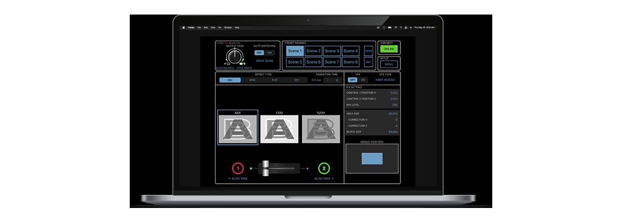 V-02HD MK II Remote Control Software