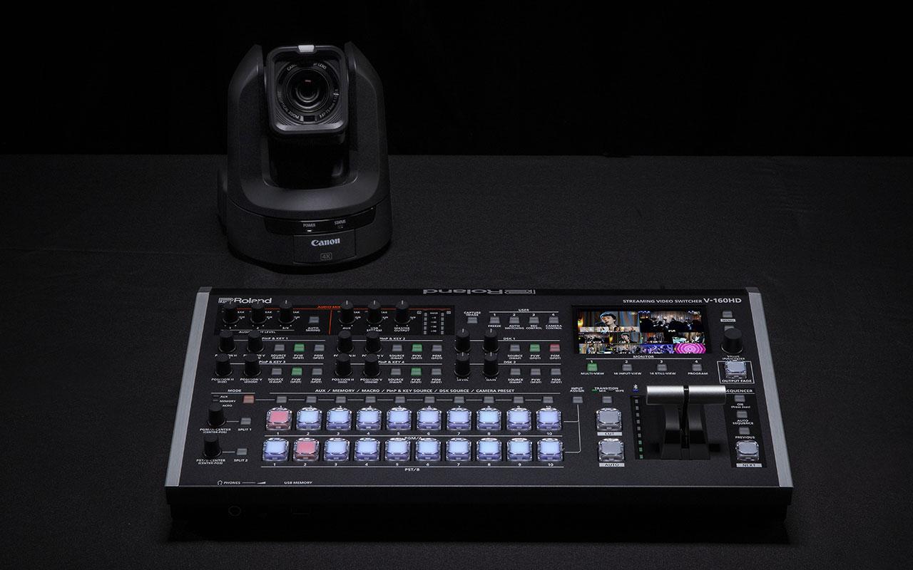 Extensive PTZ Camera Support