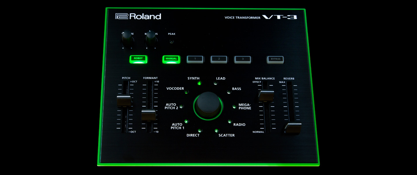 Roland Vt 3 Voice Transformer Xbox 360 Power Supply Wire Diagram Powered By Usb Bus Or Included Ac Adapter