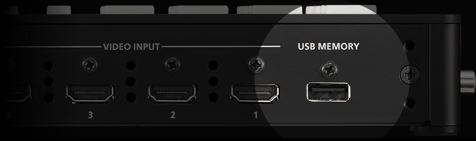USB MEMORY PORT