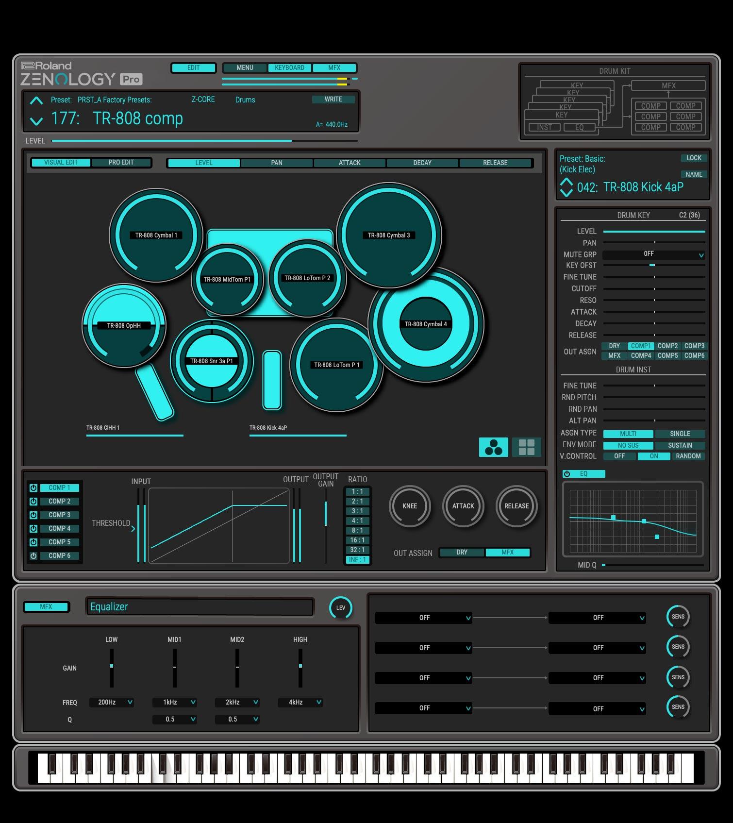 Zenology Pro | Designer drums
