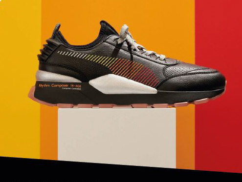6b16e3a4c42 REMIXED PUMA x ROLAND. The PUMA x Roland RS-0 and RS-100 sneakers  two  exclusive iterations in the colors of the 808 s ...