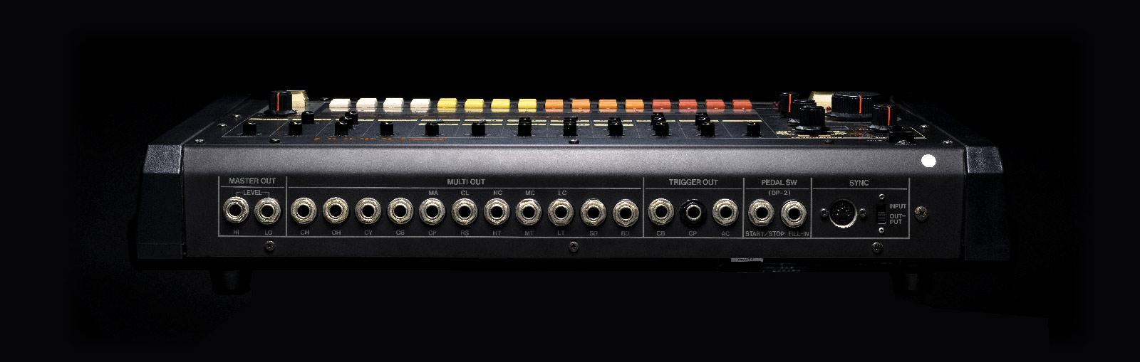 TR-808 Back Panel