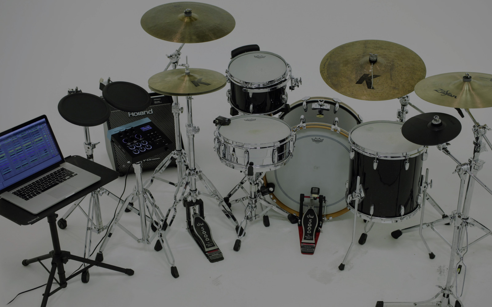 Roland Hybrid Drums Diagram Of A Drum Kit This Shows The Parts And Names Full Fledged System