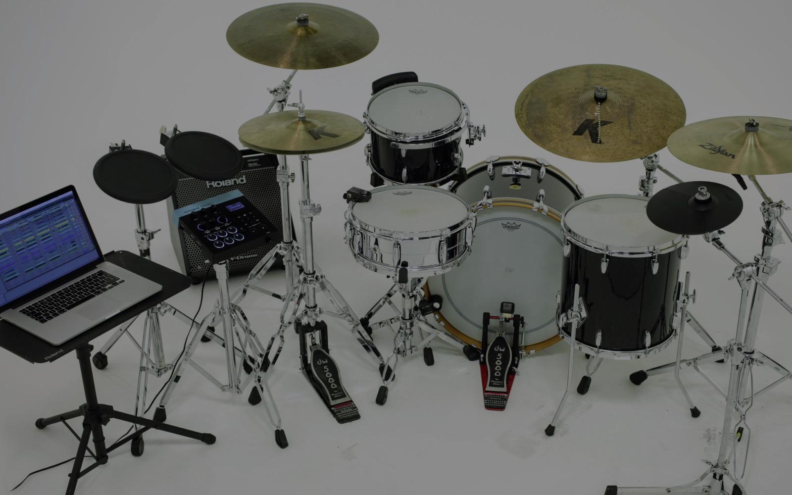 Roland Hybrid Drums Piece Drum Set Diagram My Tama Before I Full Fledged System