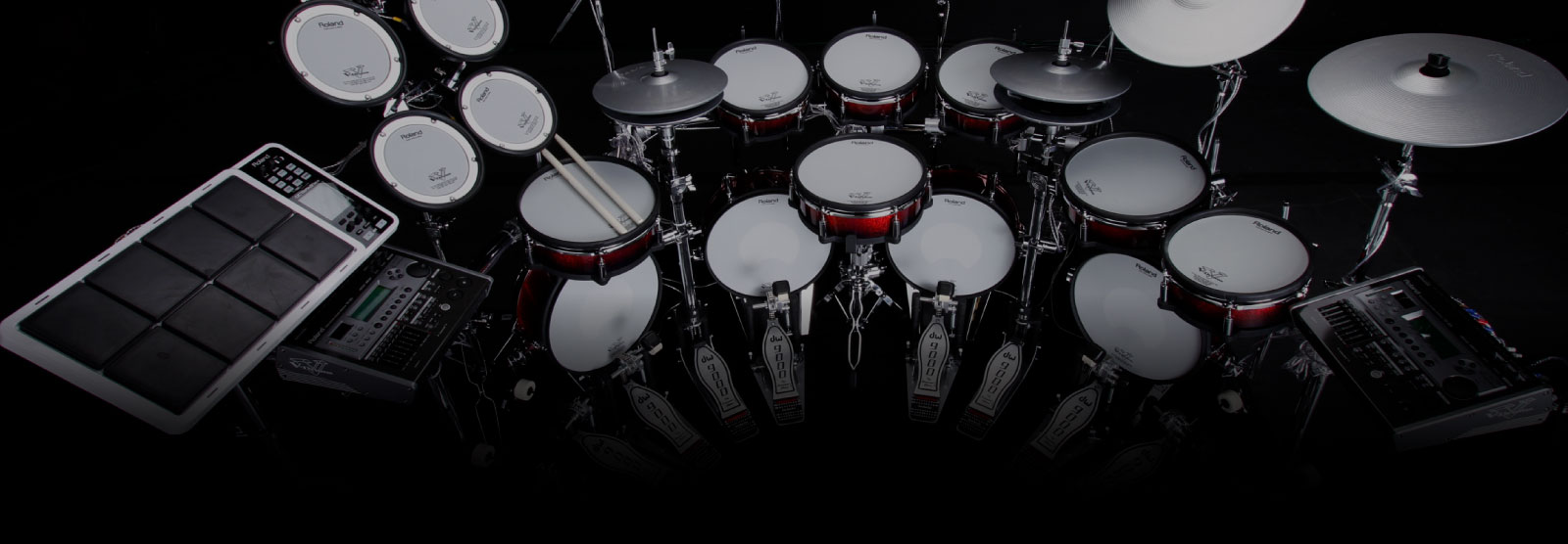 Roland - Stand-Alone Articles - History - Innovation of V-Drums