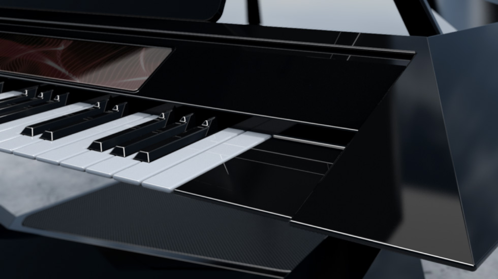 Experience Facet Grand Piano