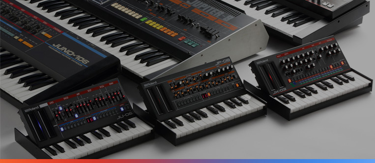 The Roland Boutique Series Story An Interview with the Legendary Developers of the JUPITER-8, JUNO-106, and JX-3P