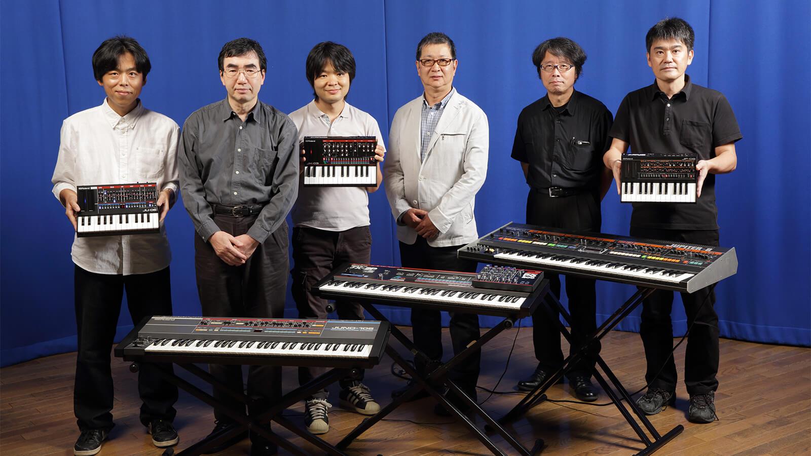 写真向かって左から、大西正人氏、井土秀樹氏、遠山裕丈氏、松井朗氏、高橋一寿氏、東條剛氏