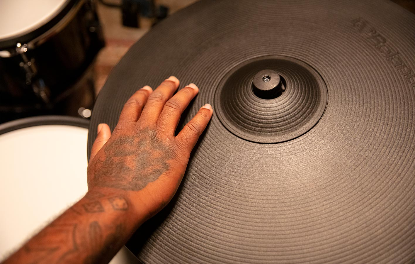 V-Drums Acoustic Design | Digital Ride Cymbal