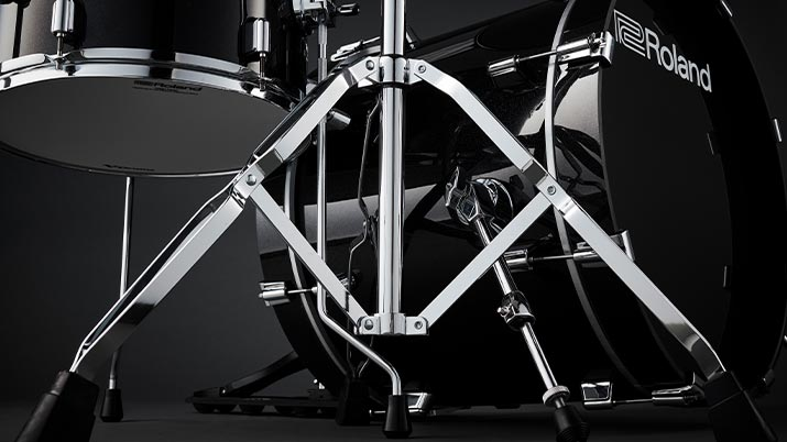 V-Drums Acoustic Design | Standard Hardware