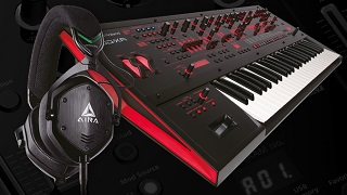 FREE M-100 HEADPHONES WHEN YOU BUY A ROLAND JD-XA SYNTHESIZER