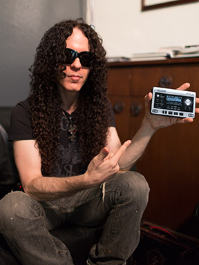 Marty Friedman with MICRO BR® BR-80