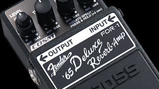Using the FDR-1 Fender® '65 Deluxe Reverb