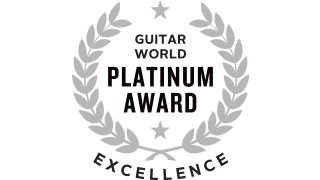 Guitar World - Platinum Award for Excellence