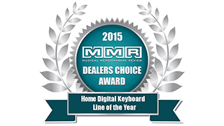 Musical Mechandise Review Dealers' Choice Awards - Home Digital Keyboard of the Year 2015