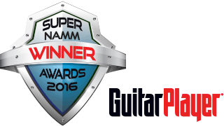 Super NAMM Awards 2016 - Guitar Player
