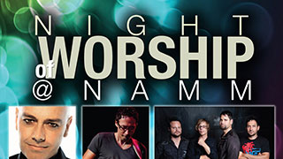 NAMM 2013 Worship Events