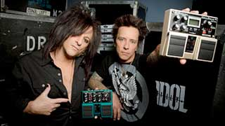 Steve Stevens and Billy Morrison