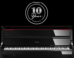 10 Year Piano Warranty