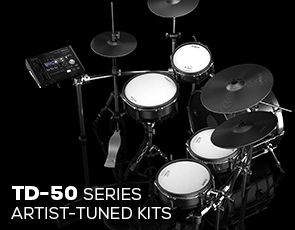 TD-50 Series Artist-Tuned Kits